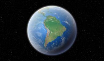 Screenshot of Earth 3D HD LWP Trial