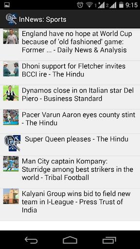 InNews: Sports