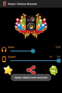 Volume Booster for Music - náhled