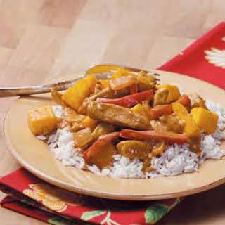 Mango Chicken Curry.