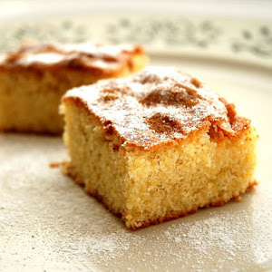 Arsenio's Buttery Bica (Galician Cake)
