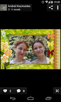 Screenshot of Birthday Photo Frames