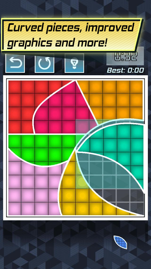 Color Fill 2 - Tangram Blocks- screenshot
