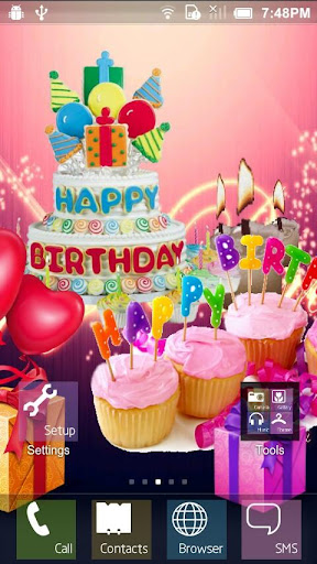Happy Birthday Live Wallpaper