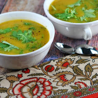 Butternut Squash Soup with Kale.