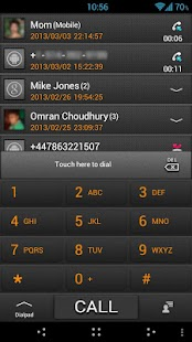 GO Contacts ICS Grey Theme - screenshot thumbnail