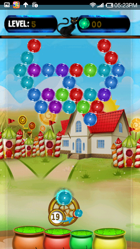 Witch Bubble Shooter