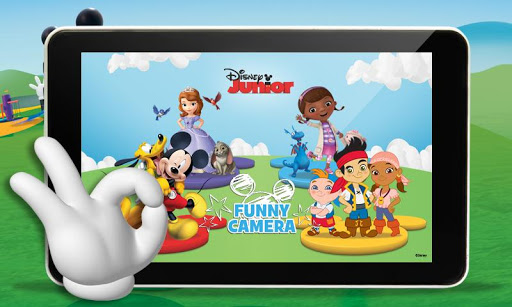 Disney Junior Funny Camera