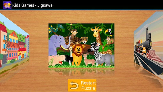 Kids Games - Jigsaw Puzzles