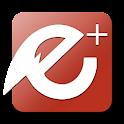 EvolveSMS Theme - E+ Red icon