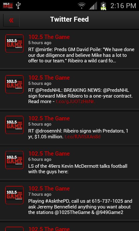102.5 The Game- screenshot