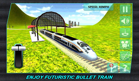 Real Train Driver Simulator 3D 1.0.3 screenshot 110736