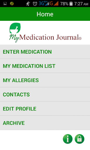 My Medication Journal©