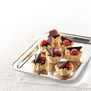 Raspberry Chocolate Tassies.