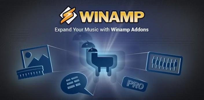 Winamp - скачать лучший аудио плеер для андроид 2.2-4.0