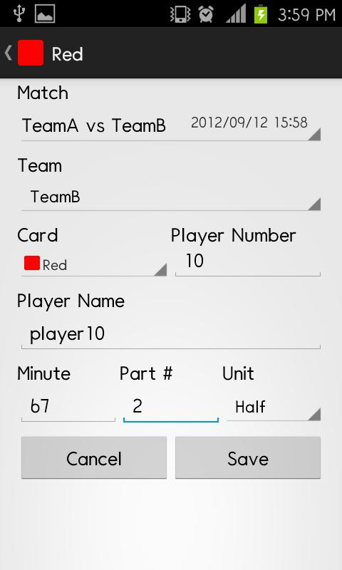 Penalty Card Neo - screenshot