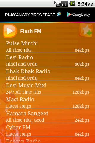Desi Radio-Hindi Tamil Punjabi - screenshot