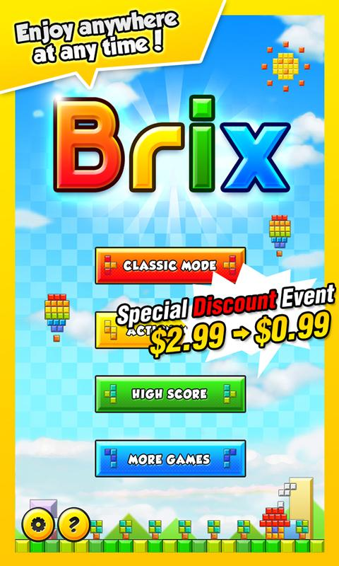 Brix HD - screenshot