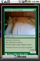 Screenshot of MTG Photo