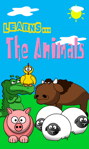 Learns the Animals colorful