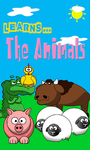 Learns the Animals colorful- screenshot thumbnail