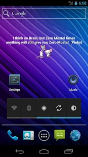 Pinky & The Brain Quote Widget - screenshot thumbnail