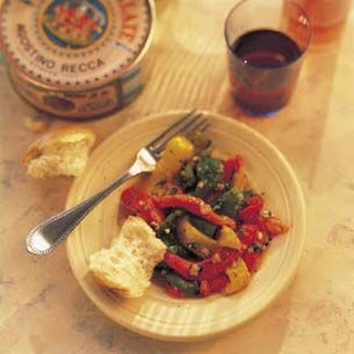 Roasted Peppers with Anchovies