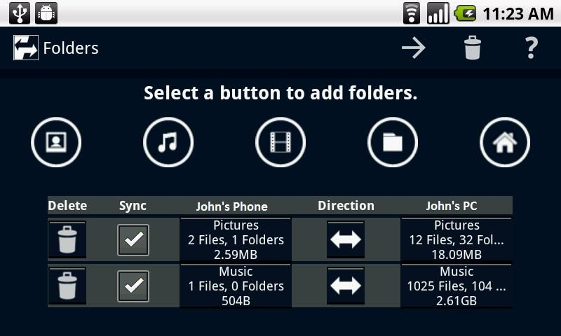 Laplink Sync - screenshot