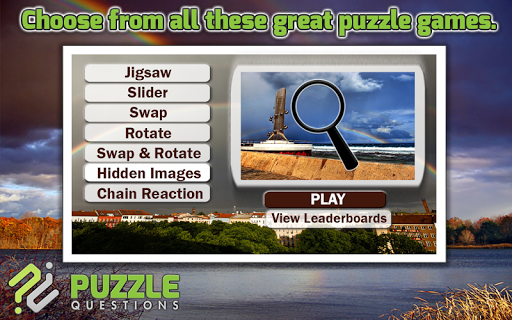 Rainbow Puzzle Games