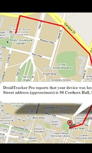 Droid Tracker Pro GPS Tracker- screenshot thumbnail