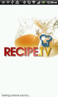 Recipe.TV - screenshot thumbnail