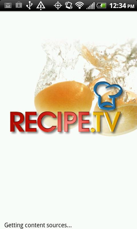 Recipe.TV - screenshot