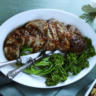 Pork Tenderloin With Bourbon Sauce