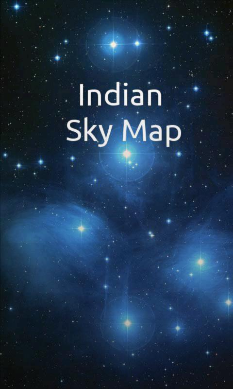 Indian Sky Map - screenshot