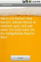 Screenshot of GERMAN Drinking Toasts