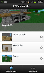Furniture Ideas - Minecraft PE - screenshot thumbnail