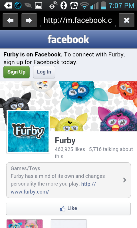 Find A Furby - screenshot