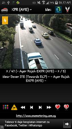 Cameras Singapore - Traffic 5.9.7 screenshot 1264658