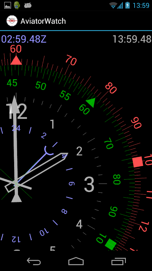 Aviator Watch - screenshot