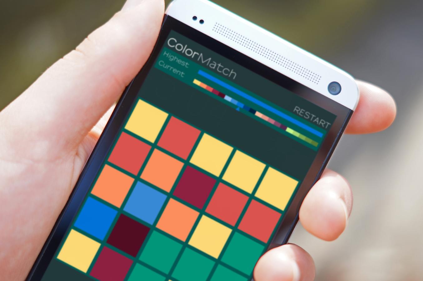 match com mobile app ordering