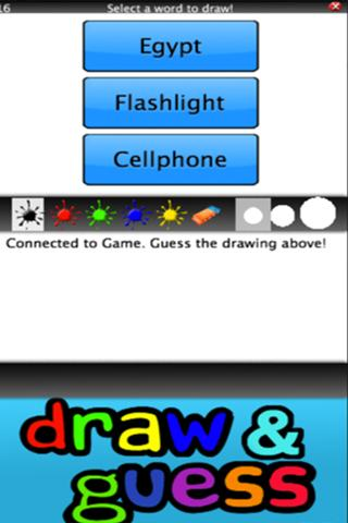 Draw & Guess Online HD- screenshot