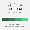 Folding Theme ssLauncher OR icon