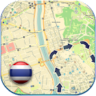 泰国的离线地图及指南 icon