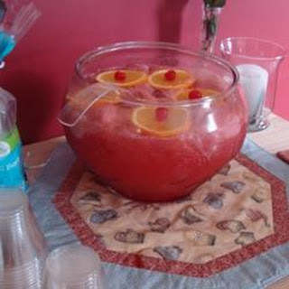 Floating Island Punch.
