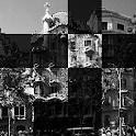 Can Batllo, Barcelona. Puzzle icon