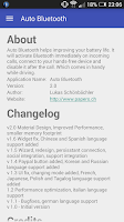 Screenshot of Auto Bluetooth