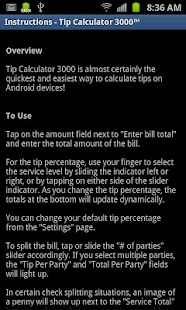 Tip Calculator 3000- screenshot thumbnail