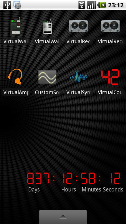 Virtual Countdown- screenshot