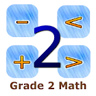 Grade 2 Math by 24by7exams icon