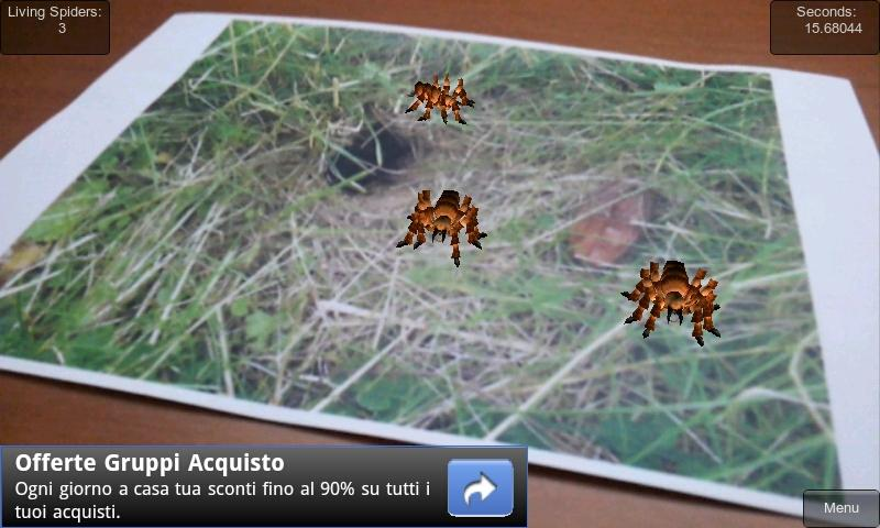 ARachnophobia Free - screenshot